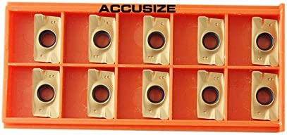 Accusize Industrial Tools 3//4 Shank 7 Pc Indexable Carbide Turning Tool Set with 10 Extra Carbide Inserts in Fitted Box 2387-2006plus