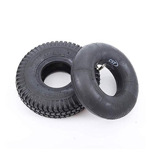 Neumáticos scooter eléctrico, neumáticos interiores y exteriores inflables 3.00-4, neumáticos exteriores resistentes al desgaste del carro 260X85, adecuados el reemplazo barredoras, neumáticos remol
