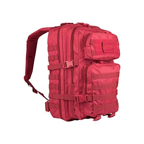 Us Assault Pack - Mochila, Color Rojo, Tamaño Large