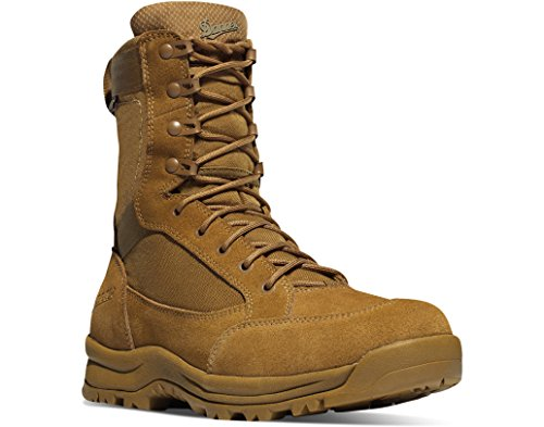 Danner Men's Tanicus 8'' Plain Toe Boots, Brown, 3 D
