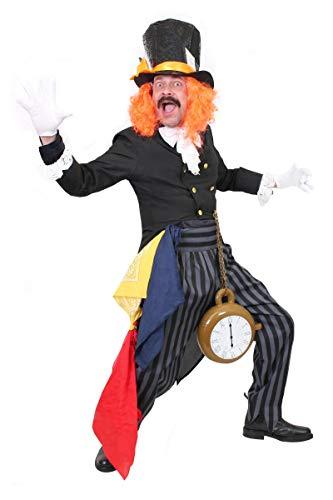 I LOVE FANCY DRESS LTD Disfraz DE Sombrerero Loco para Adultos - Disfraz Completo DE Sombrerero Loco + Reloj Inflable (PEQUEÑO)