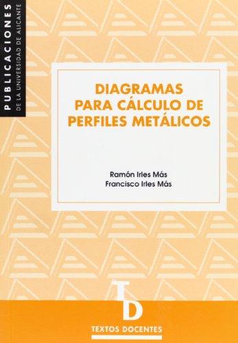 Diagramas para cálculo de perfiles metálicos (Textos docentes) (Spanish Edition)