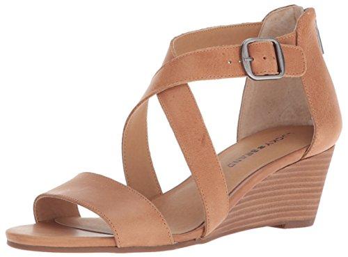 Lucky Brand Women's Jenley Sandal, Brown, 7 Medium US