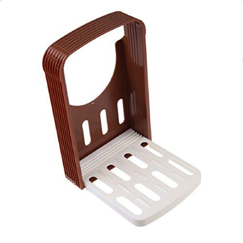 Luwu-Store Couteau à Pain Tranche de Pain Toast Slicer Cutting Tricot Guide Kitchen Tool Couleur aléatoire