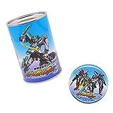 新幹線変形ロボ シンカリオンZ 貯金箱 缶 & 缶バッチ 561570