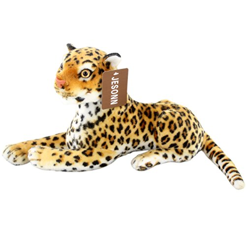 JESONN Stuffed Animals Toys Cheetah Spotted Leopard Plush (12 Inches)