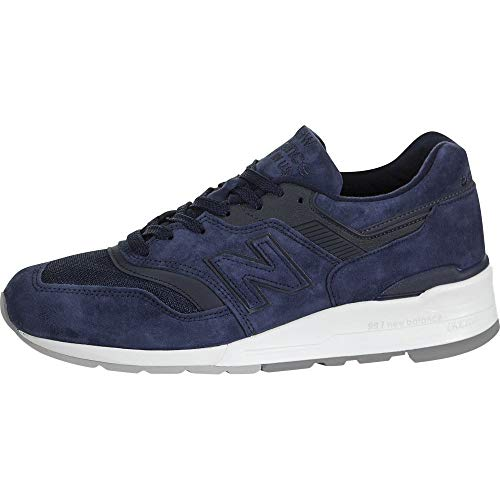 New Balance 997 Made in The USA Navy Trainers - UK 10
