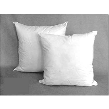 Supreme Euro Square Down Alternative Pillows, Set of 2