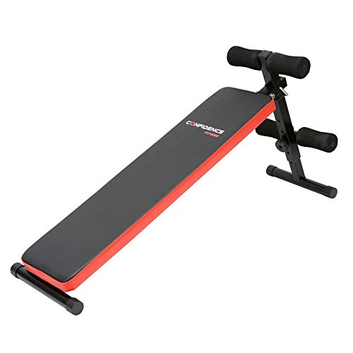 Confidence Fitness Pro Adjustable Sit Up Ab Bench V2