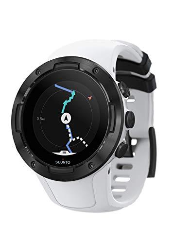 SUUNTO 5, Orologio Sportivo GPS Unisex Adulto, Bianco/Nero