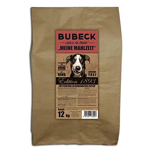 Hundefutter BUBECK getreidefreies Trockenfutter für alle Rassen natürlich gebacken (Rind, 12 Kg)