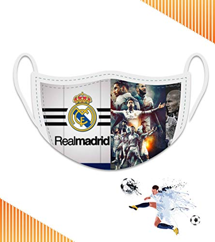 Maschera squadra di calcio del Real Madrid