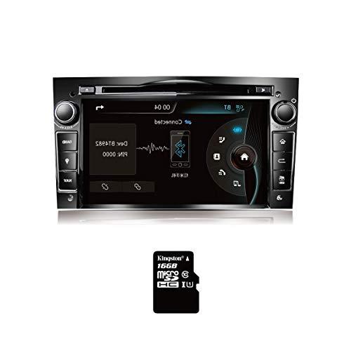 Amaseaudio Upgrade Windows CE 6.0 Autoradio Car DVD Player für Opel Vectra Astra Antara Zafira Corsa Meriva Vivaro Radio 2-Din 7-Zoll InDash GPS Navigation sgeräte