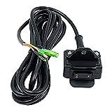 12V Winch Rocker Relay Switch Kit with Mounting Handlebar & 11.5FT Control Line Fit for ATV UTV 4x4 Universal Vehicles Polaris KFI WARN Ramsey