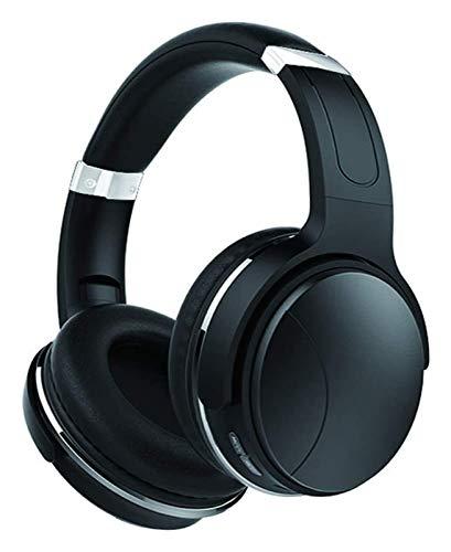 WYYHYPY Auriculares inalámbricos sobre Oreja, Auriculares Bluetooth 4.2 Auriculares Ajustables Auriculares con micrófono, para Oficina en casa Clase en línea PC TV, Blanco Auriculares Bluetooth