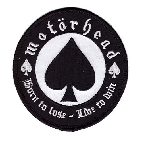 Titan One Europe - Motorhead Born To Lose Live To Win Rock Music Band Parche Motero (Termoadhesivo)
