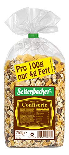 Seitenbacher Müsli Confiserie, 3er Pack (3 x 750 g Packung)