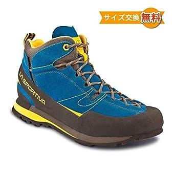 スポルティバ ボルダーX ミッド GTX アプローチシューズ アウトドアシューズ sokunou-boulder-x 43.5(EU) Blue/Yellow [並行輸入品]