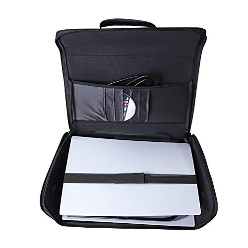PS5 Carrying Case,PS5 Console Accessories Portable Handbag,Portable Waterproof PS5 Travel Bag for System and Accessories,Carrying Case For PS5,Travel Bag For PS5,Waterproof And Shockproof Nylon Fabric