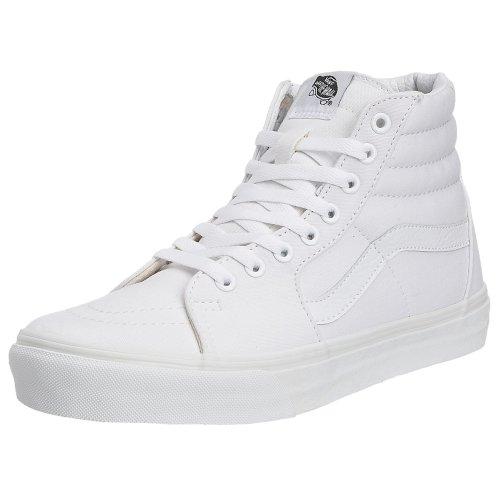 Vans Unisex Sk8-Hi True White Sneaker Size 7