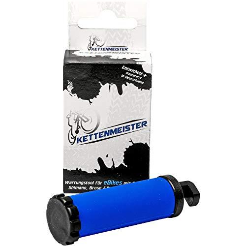 ActiveVikings - Kettenmeister eBike Werkzeug - Perfekt für die Kettenpflege - Ideal für Bosch Shimano Brose und Yamaha Antriebe - eBike Kette rückwärtsdrehen