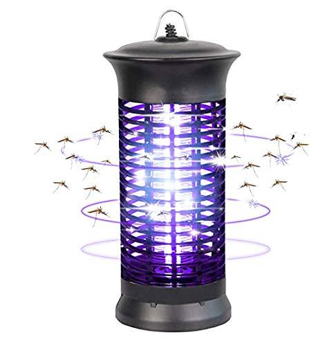 bldberry Insect Killer Elektrisches UV-Licht - Elektronisches Mückenschutzmittel gegen Mücken, Fliegen, Mücken Insektenschutzmittel gegen Schwarz