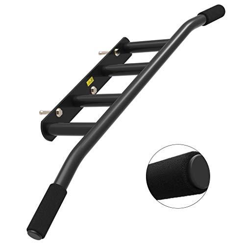 Musculación Pull-ups Aparatos de Gimnasia de Interior Barra Horizontal de Pared multiposición Pull-ups de Interior Carga de 300 kg (Color : Black, Size : 100 * 15 * 45cm)