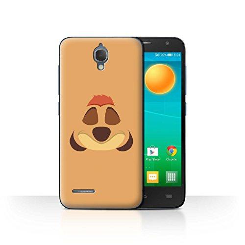Stuff4 Phone Case/Cover/Skin/alc-cc/Cartoon African Animals Collection Timone Inspiré Alcatel Idol 2 Mini