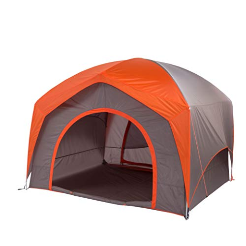 Big Agnes Unisex's Big House Tent, Orange/Taupe, 4 Person