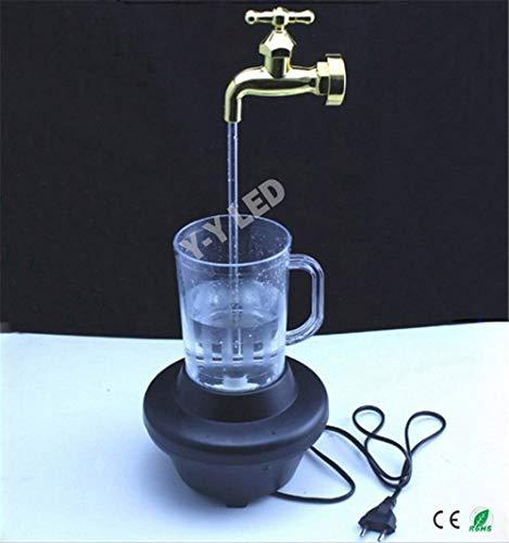 Bunte magische Hahnlampe der Neuheit, Dekoration magischer Wasserhahn-Brunnen, magische Hahn-laufende Lichter