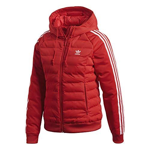 Adidas Damen Slim Jacke, mehrfarbig (Reared), 34