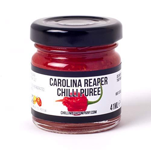 avis couteau de cuisine au monde professionnel Carolina Reaper Pepper Purée – Fabriqué en Angleterre – Ingrédients naturels uniquement – Pâtes…