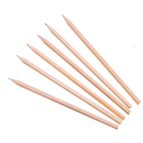 Vi.Yo, matita in legno naturale HB, per disegnare e scrivere, per ufficio e scuola, confezione da 10