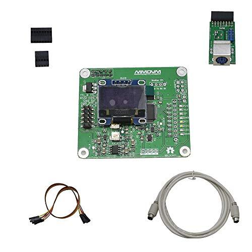 weichuang Elektronisches Zubehör Relaisboard RPT HAT RPi Relais + 1 x Erweiterungsplatine + OLED für RPi Elektronikteile Elektronikzubehör
