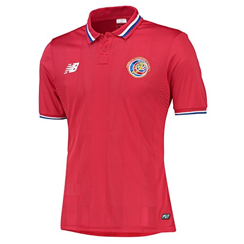 New Balance Costa Rica Home Jersey [Red] (L)
