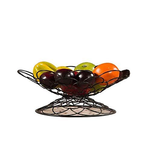 JYV Frutero, Forma De La Cesta De Fruta Sala del Cuenco De Fruta Creativa del Marco del Cuenco De Fruta Cocina Plancha