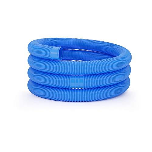 Uniprodo Uni_Pool_Hose_38/6 Poolschlauch 38mm blau Schwimmbadschlauch 6 m Schwimmbeckenschlauch Solarschlauch