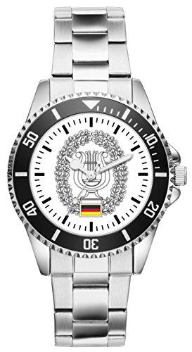 Soldat Geschenk Bundeswehr Artikel Musikdienst Uhr 1216