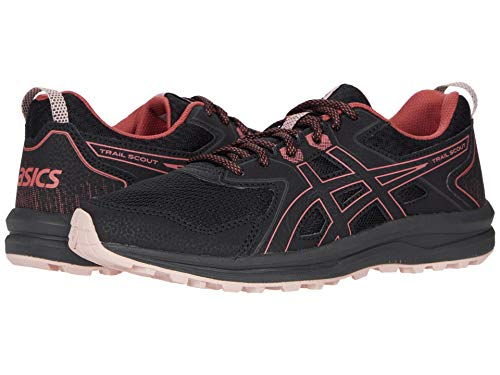 ASICS Women's Trail Scout Black/Dried Rose 9 M