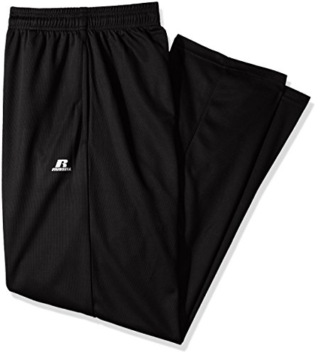 Russell Athletic Men's Big and Tall Dri-Power Pant, Black, 3X
