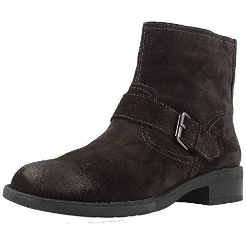 Stonefly EMY II 1 Velour Bottines Boots Femme Marron 36 EU