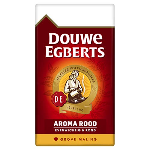 Douwe Egberts Aroma Rood Grove Maling Filterkoffie, 6 x 500 Gram