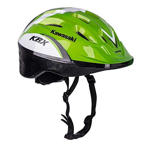 Kawasaki Shikuro - Casco de bicicleta para niños (tallas 48-50, 50-52, 52-54,...