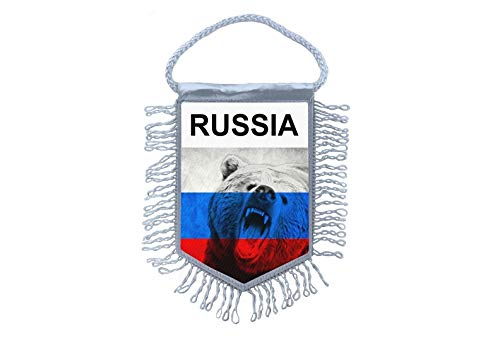 Akachafactory Wimpel Mini Flagge Fahne flaggen miniflagge Russland russische C
