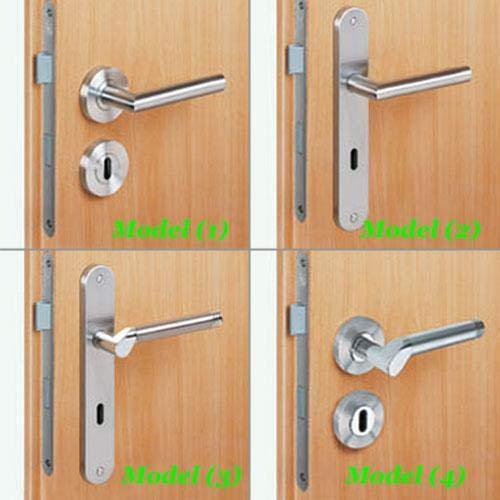 Türdrücker-Garnitur/Griffe aus Edelstahl oder aus feinem Zinkdruckguss/verschiedene Designs (Model (2))