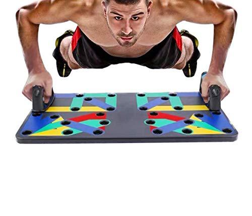 LNLJ Muscle Board Push Up, 16 en 1, sistema de tabla de flexión, herramienta de entrenamiento de fitness en el hogar, para el entrenamiento de brazo, músculo y cuerpo