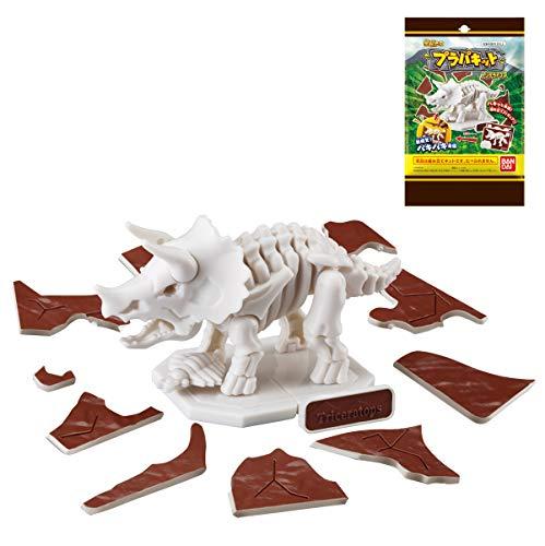 キャラパキ 発掘恐竜 プラパキット トリケラトプス