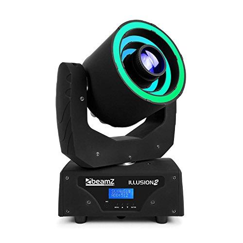 Beamz Illusion 2 30W LED weiß 3in1 SMD RGB LED-Ring DMX/Standalone schwarz