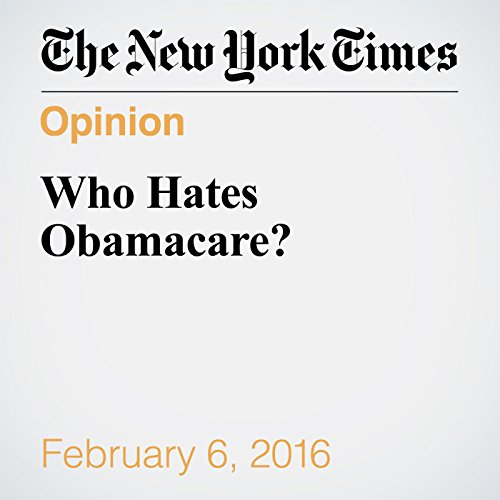 Who Hates Obamacare? audiobook cover art