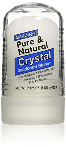 Thai Deodorant Stone Pure And Natural Crystal Mini Stick 2 Oz